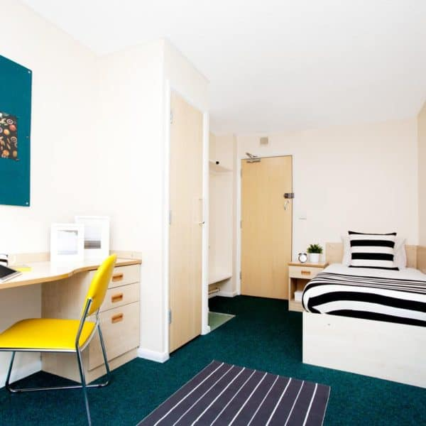 Sheffield Leadmill Point Residence Accommodation - Bedroom