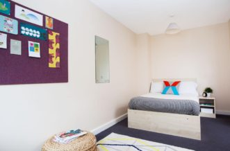 Kentish Town residence accommodation - Studio Bedroom