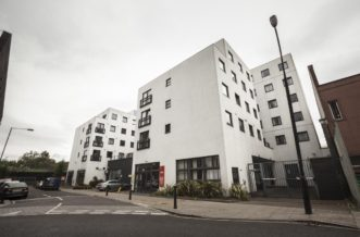 Kentish Town residence accommodation - External