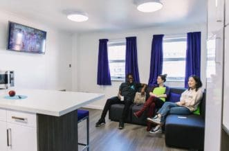Manchester Berry Street Residence Accommodation - Common Room