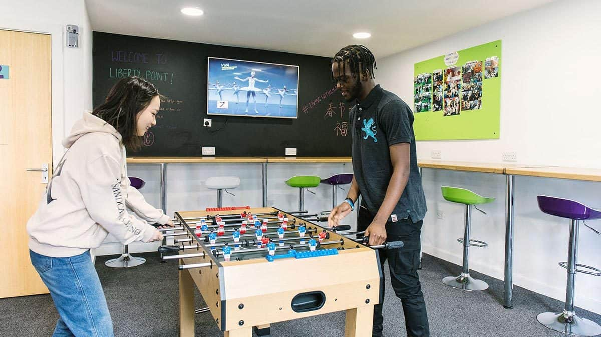 Manchester Berry Street Residence Accommodation - Games Room