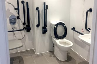 New Cross Residence Accommodation - Accessible Bathroom