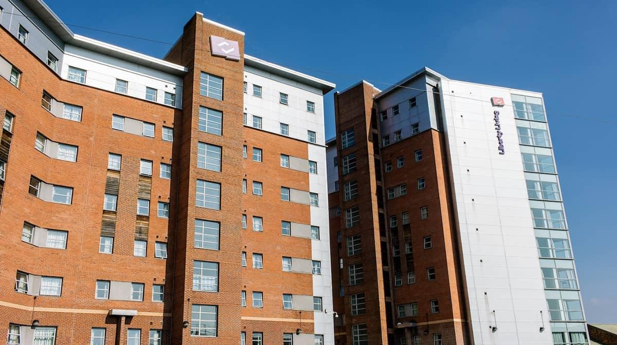 Manchester Berry Street Residence Accommodation - External