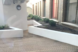New Cross Residence Accommodation - Outdoor Space