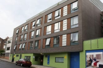 New Cross Residence Accommodation - External