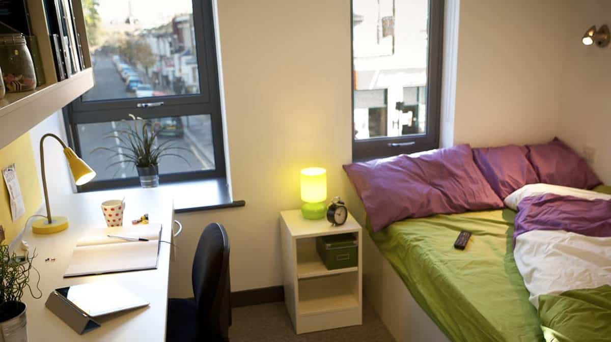 Fulham Residence Accommodation - Bedroom