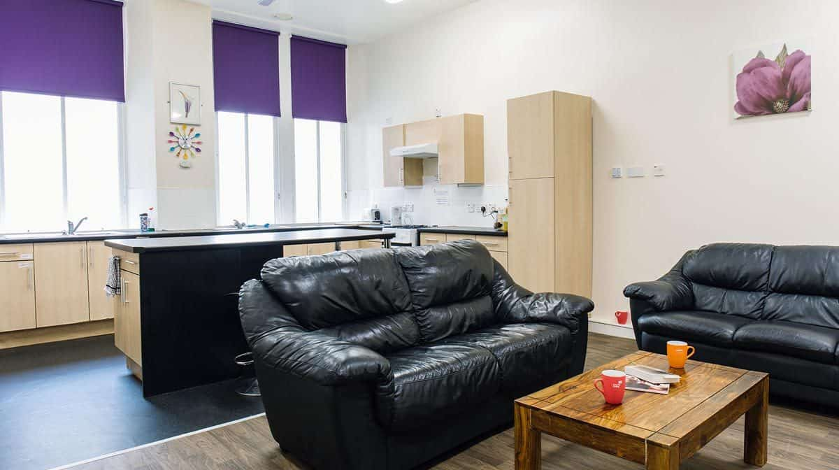 Glasgow Argyle Street Residence Accommodation - Common Area