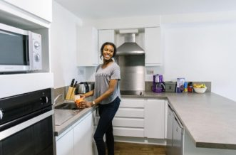 Glasgow North Central Residence Accommodation - Kitchen