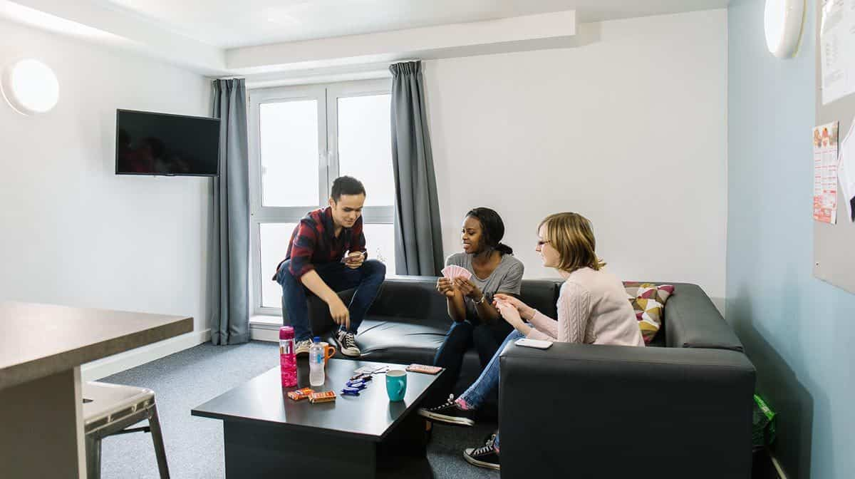 Glasgow North Central Residence Accommodation - Common Area