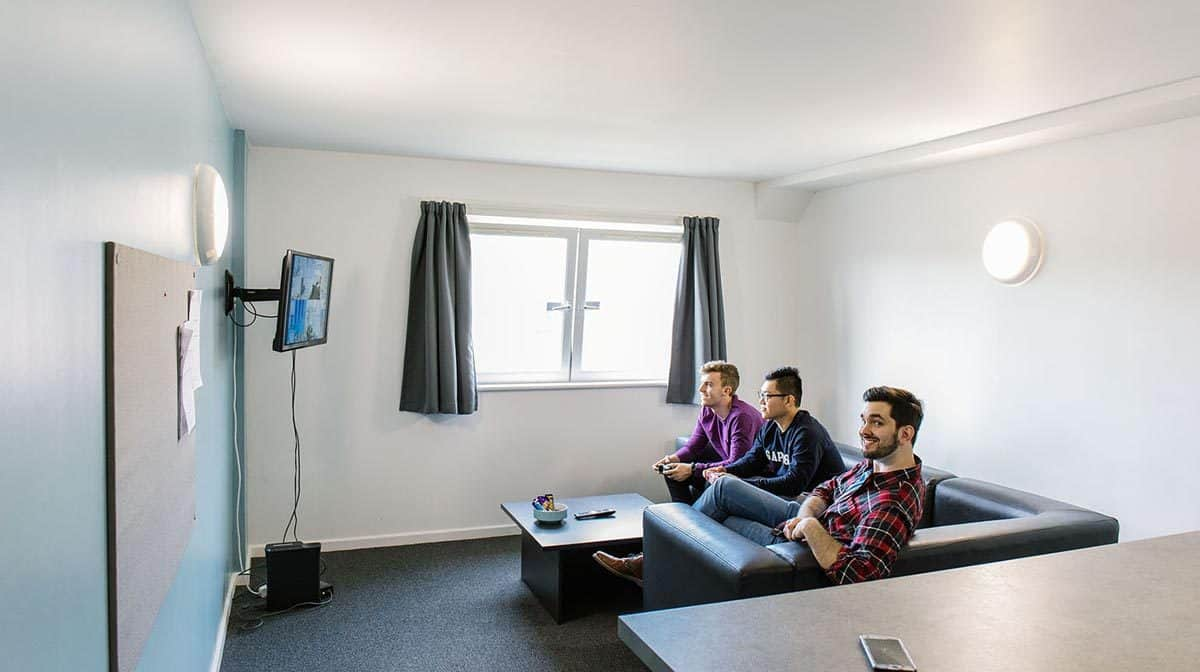 Cardiff Cathays Residence Accommodation - Common Area