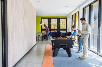 Cardiff Cathays Residence Accommodation - Games Room