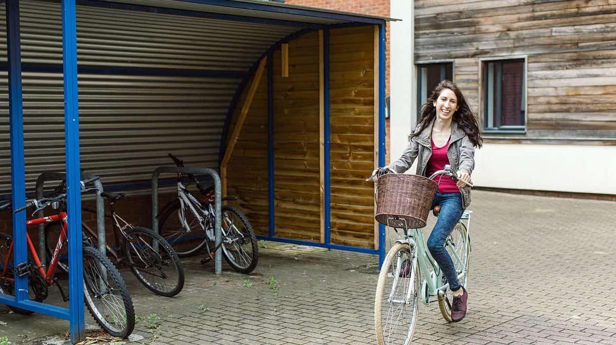 Liverpool Islington Residence Accommodation - Cycle Storage