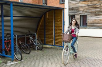 Liverpool Islington Residence Accommodation - Cycle Storage