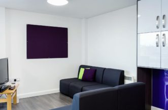 Leeds City Centre Residence Accommodation - Common Area