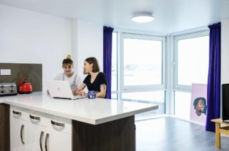 Leeds City Centre Residence Accommodation - Dining Area