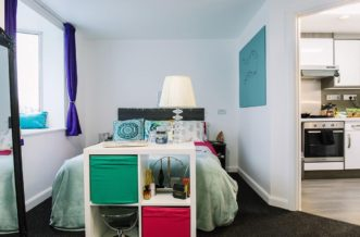 Leeds City Centre Residence Accommodation - Studio Flat