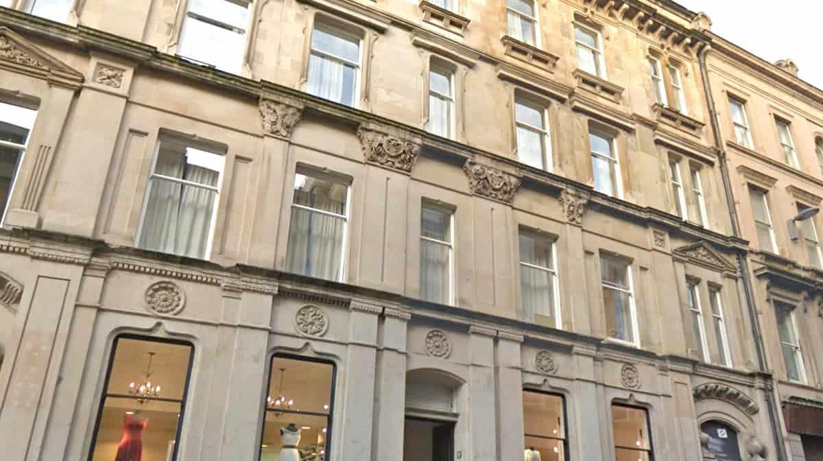 Glasgow Argyle Street Residence Accommodation - External