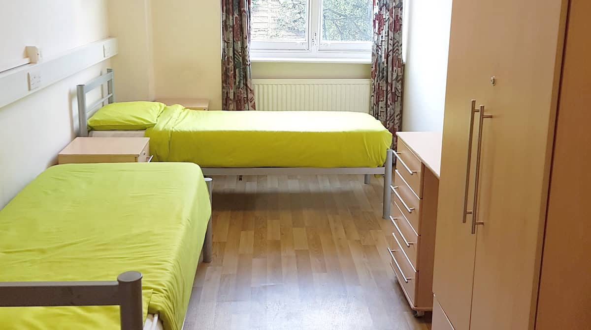 Belsize Park Residence Accommodation - Twin Room