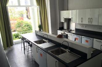 Belsize Park Residence Accommodation - Kitchen