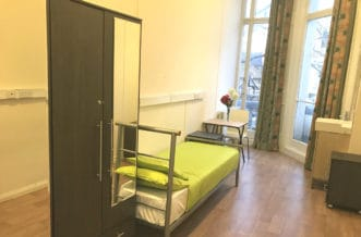 South Kensington Residence Accommodation - Single Room