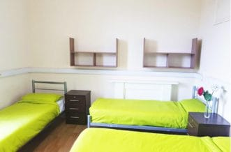 Pimlico Residence Accommodation - Dorm Room