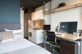 Liverpool Street Residence Accommodation - Studio Room