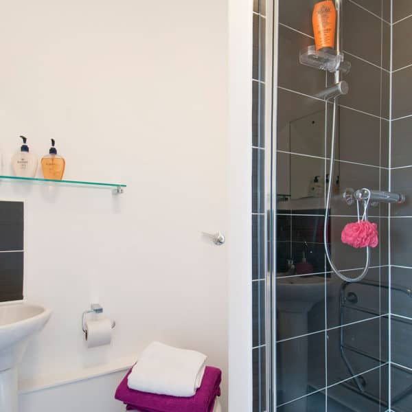 Chelsea Residence Accommodation - En Suite Bathroom