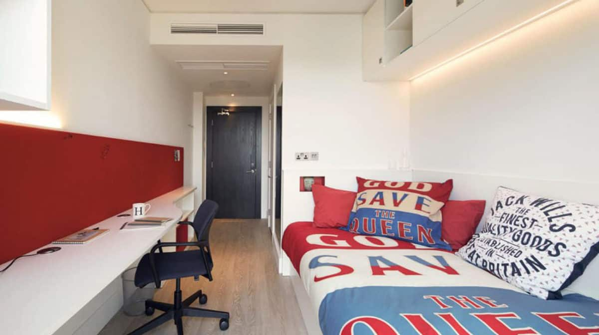 Vauxhall Residence Accommodation - Bedroom