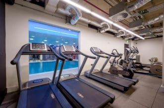 Vauxhall Residence Accommodation - Gym