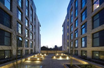 Vauxhall Residence Accommodation - Rooftop Terrace