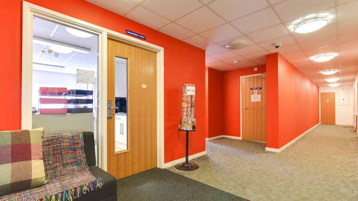 Kentish Town residence accommodation - Reception