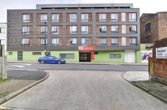 Kentish Town residence accommodation - External