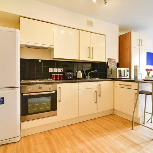 Kentish Town residence accommodation - Premium Studio Kitchen