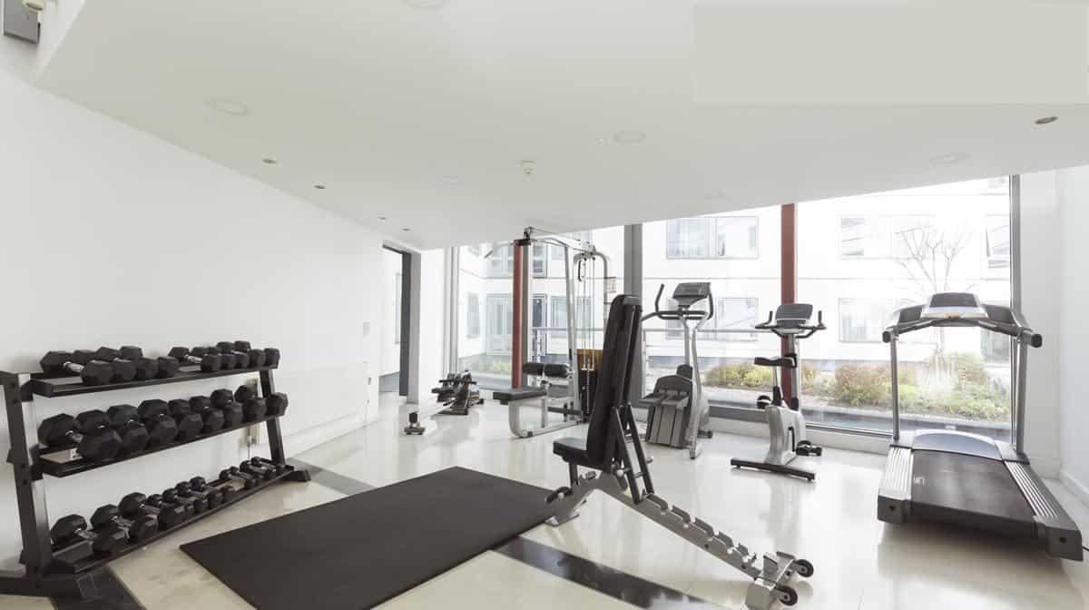 Southwark residence accommodation - Gym