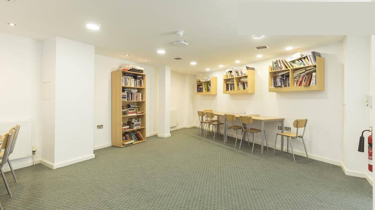 Southwark residence accommodation - Study Room