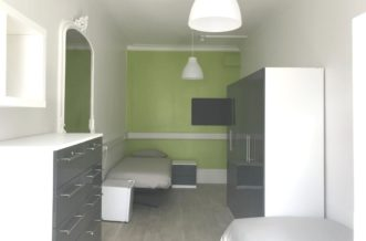 Hyde Park residence accommodation - Twin Room