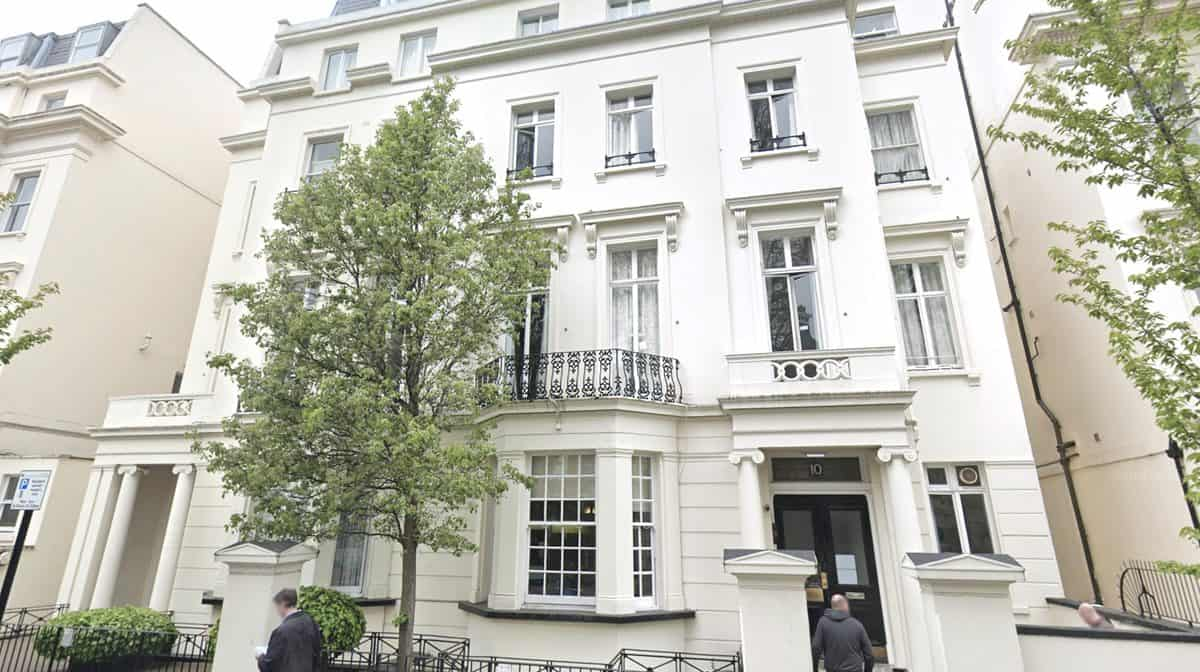 Lancaster Gate Residence Accommodation - External